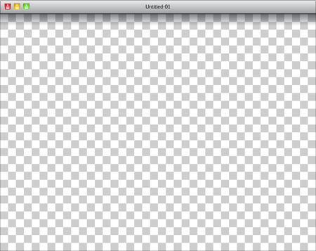 web browser: Blank window of DTP software with raster Illustration
