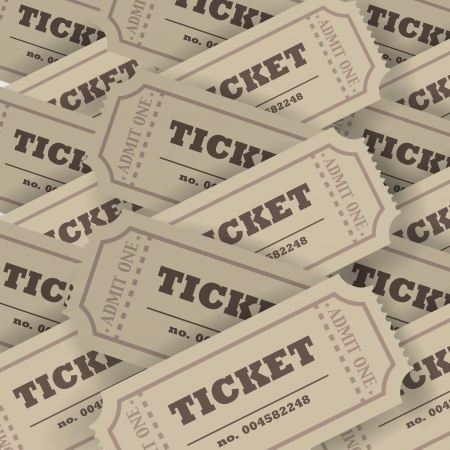 admit one: Plenty of tickets
