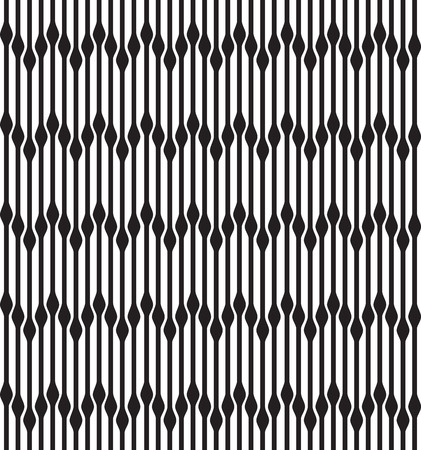 optical image: Abstract geometric seamless background, black and white