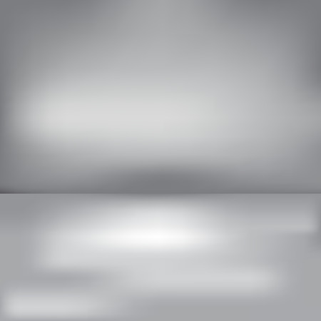 Abstract grey background with a horizont Illustration