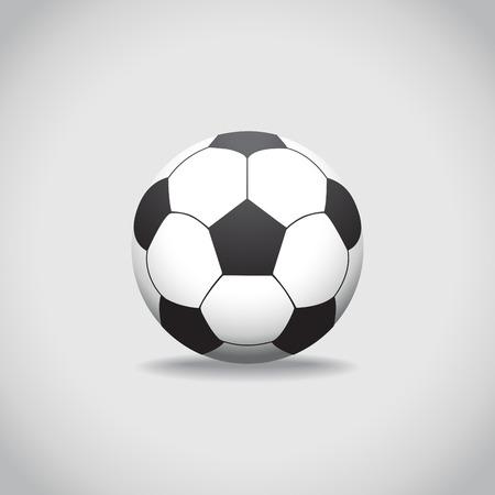 footbal: Soccer Ball, realistic illustration Illustration