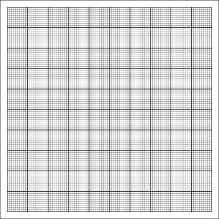 mm: Millimeter paper grid vector, 100mm square pattern