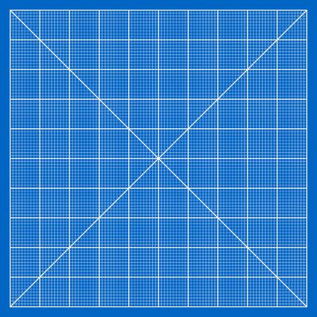 Millimeter paper grid vector, 100mm square pattern Stock Vector - 28254633