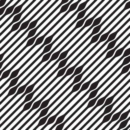 Abstract geometric background pattern, black and white  Vector