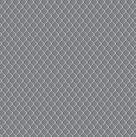 wired fence - illustartion Vector