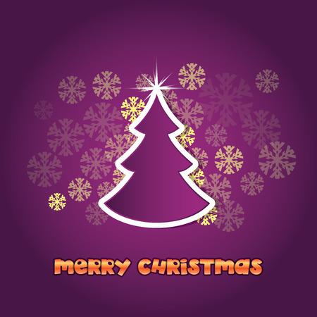 Merry Christmas theme Vector