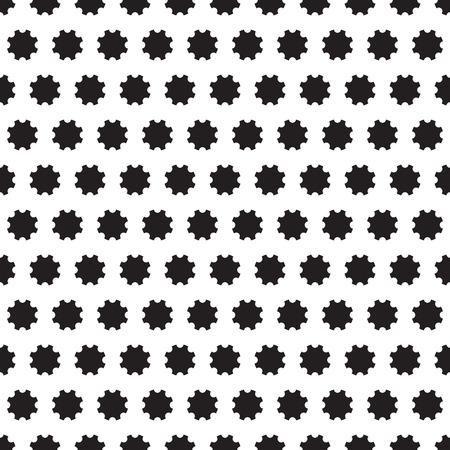 Cogs, wheels - seamles pattern Vector
