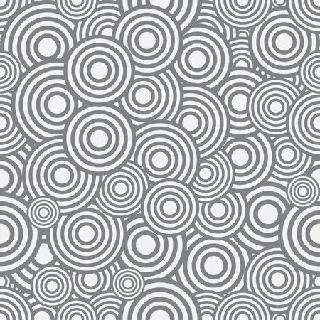 circulos concentricos: Círculos sin patrón, ilustración