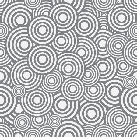 concentric: Seamless circles pattern, illustration