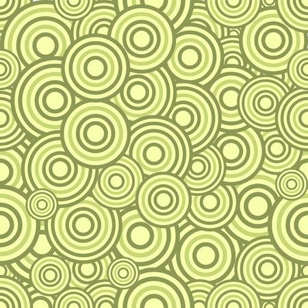 Seamless circles pattern, illustration