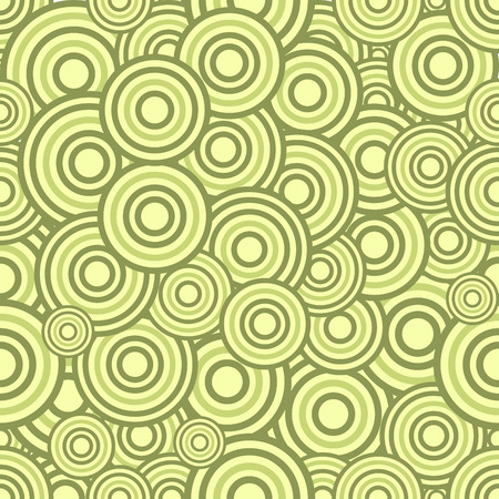 Seamless circles pattern, illustration