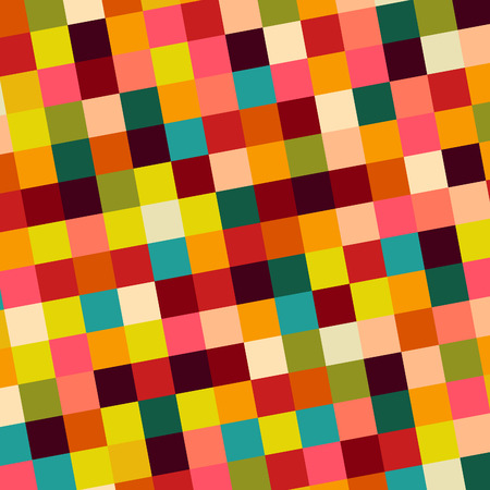 squares background: colorful squares background, illustration Illustration