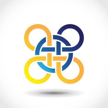 celtic symbol: Celtic symbol, icon design template