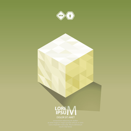 logic: Cube logic icon.