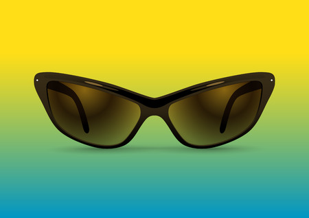 sunglasses isolated: sunglasses isolated Illustration