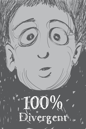 parody: One hundred percent divergent, illustration Illustration