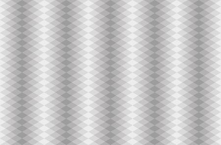 gray: Seamless gray scaled rhombus pattern, vector illustartion
