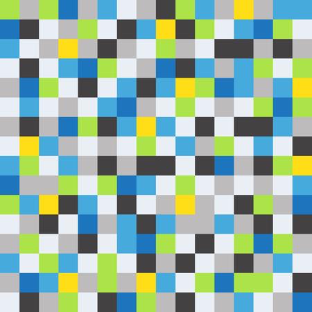 illustartion: Abstract pixel background, vector illustartion