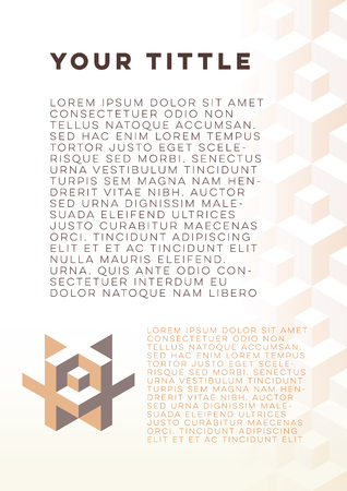 nombre d or: Abstract technology background template (golden ratio) for document or  leaflet