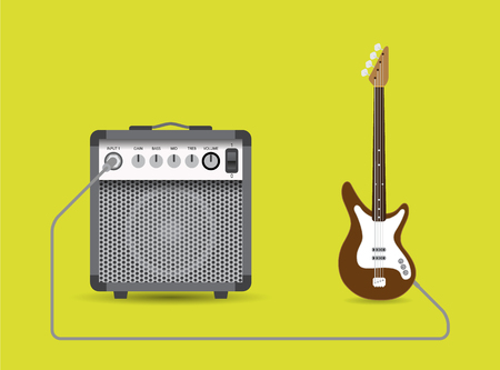 overdrive: Bass guitar and combo
