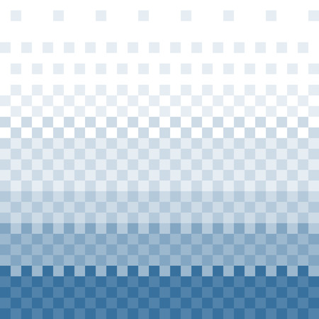 pixelart: pixelated colored gradient, background, template, illustration. - Stock vector