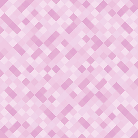 Abstract pink pixel polygonal background, template. - Stock vector