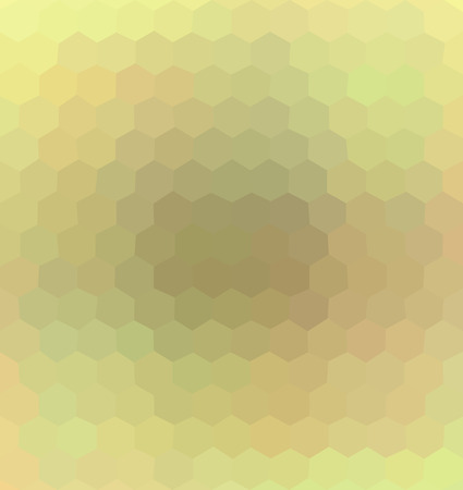 smooth background: Abstract colorful hexagonal gradient background, template. - Stock vector