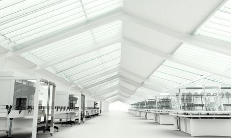 investigando: Laboratorio de Investigación limpia moderna
