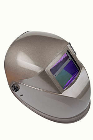 isolated image of a high quality welding mask Stock Photo