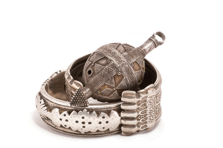 silver jewelry: Collection of Vintage National and Silver Jewelry, Kazakh National Jewelry