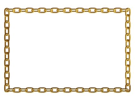 hotlink: Metal chain frame
