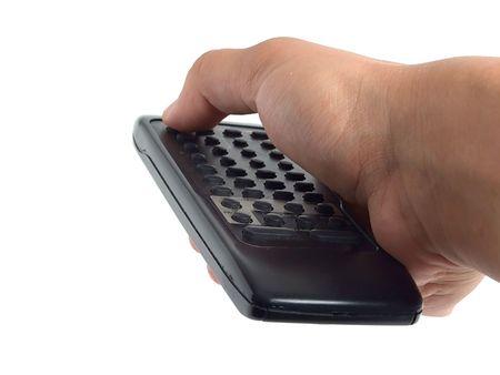 Using the remote control  photo