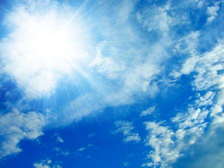 Sunlight sky  photo