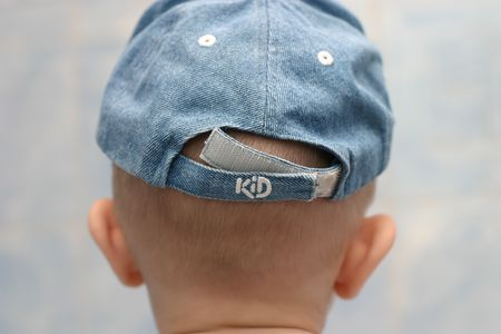 Back of child head and cap Stock Photo - 4563210