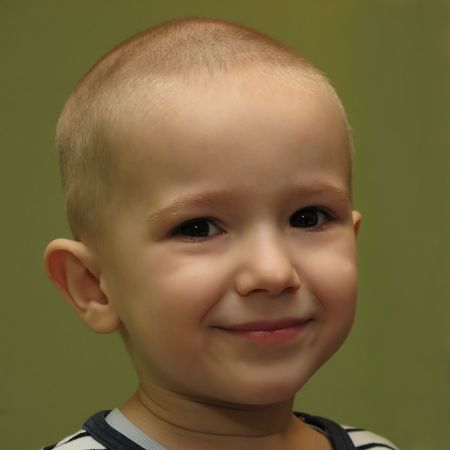 Little child smiling Stock Photo - 4569121