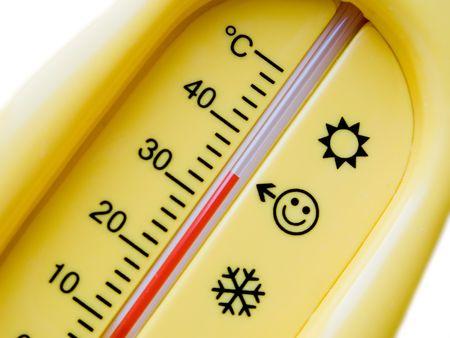 Temperature thermometer for cold heat healthcare photo