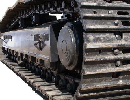 maquinaria pesada: M�quina de construcci�n Caterpillar motor