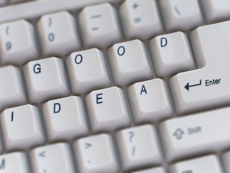 Computer keyboard key text closeup photo