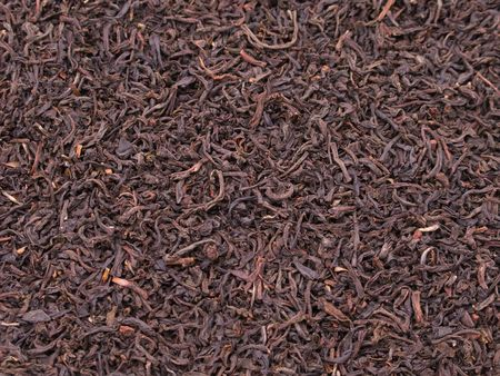 Black tea crop leaf for healthy lifestyle drink photo