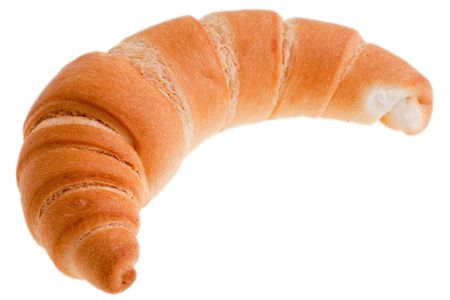 Pastry food to morning breakfast - bread croissant photo