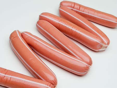 Sausage food for eating barbecue meat at lunch Stock Photo - 5313733
