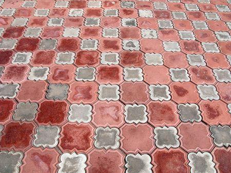 Ceramic tiles textured pattern background design photo