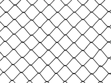 Metal wire fence protection chainlink background Stock Photo - 5638749