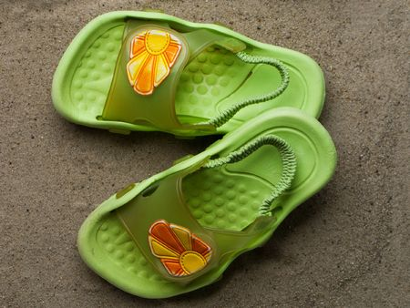 swimming shoes: Swimming shoes - summer vacations flip-flop sandal