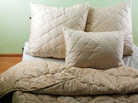 Comfortable home indoor interior pillow furniture photo