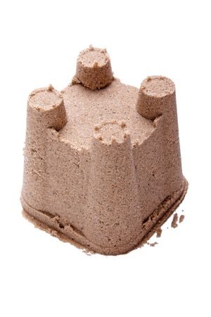 Sandcastle - summer vacations castle on beach sand photo