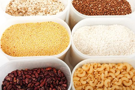Healthy eating plant cereals seed food ingredient photo