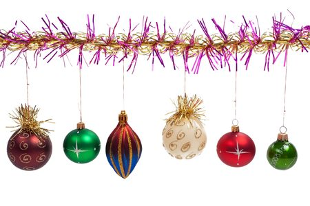 Christmas holiday decoration ornament background Stock Photo - 5993713