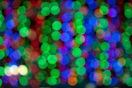 Defocused light color abstract pattern background photo