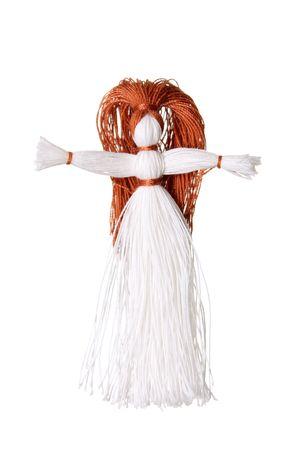 Sewing craft string fiber thread doll toy women Stock Photo - 6327041